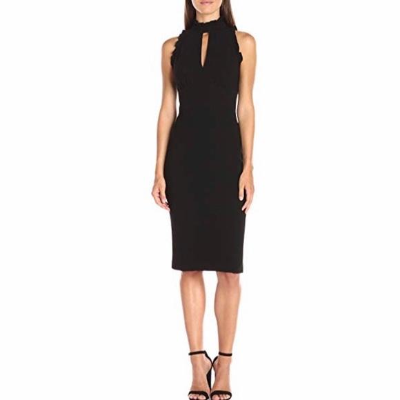 d06cba7d Shoshanna Dresses   Black Ruffle Giana Sleeveless Gown Sz 4   Poshmark
